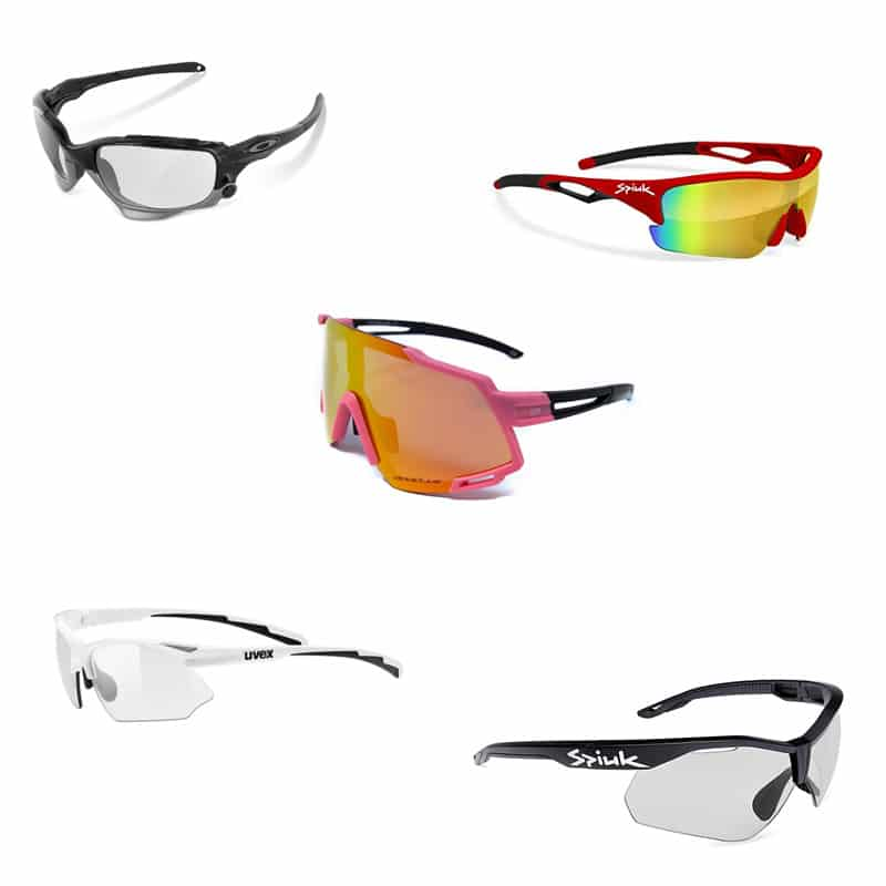 gafas de ciclismo con kit optico